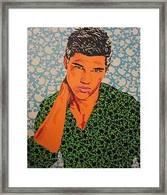 Heartbreaker Framed Print by Adrienne S