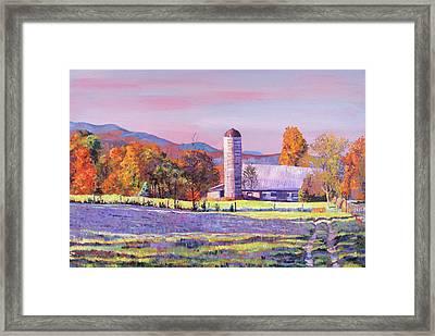 Heartland Morning Framed Print by David Lloyd Glover