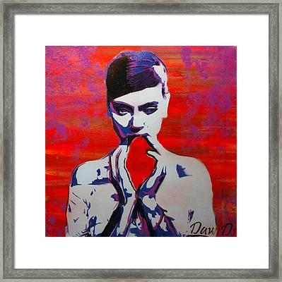 Heartless Framed Print by Martin DawiDs