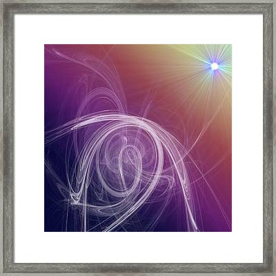 Heart's Journey Framed Print by Nicole Grattan