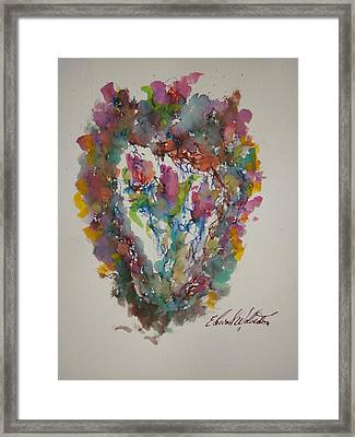 Hearts Pleasures Framed Print by Edward Wolverton