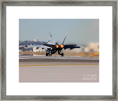 Framed Print featuring the photograph Heat by Alex Esguerra