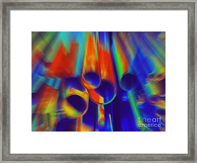 Heat Framed Print by Irina Hays
