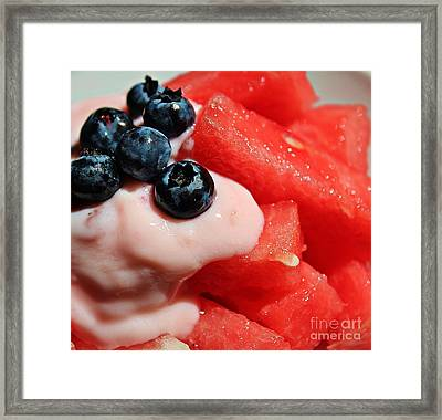 Heat Quencher Framed Print by Barbara Griffin