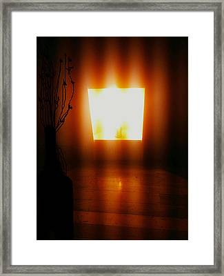 Framed Print featuring the photograph Heat by Rc Rcd