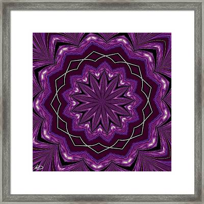 Heather And Lace Framed Print by Alec Drake