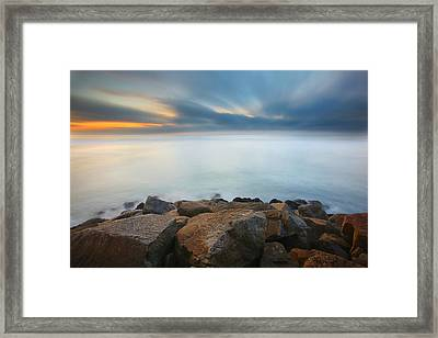 Heaven And Earth 2 Framed Print by Larry Marshall