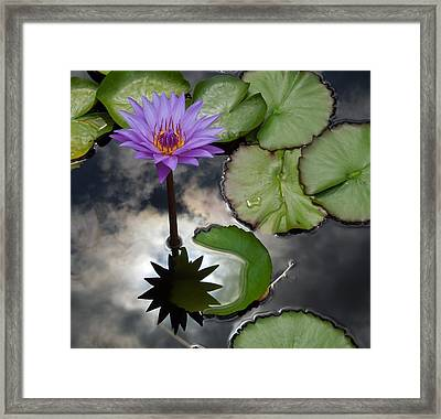 Heaven And Earth Reflections Framed Print