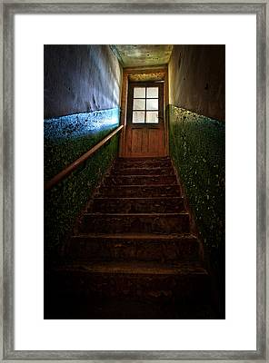 Heaven Is Closed Framed Print by Nathan Wright