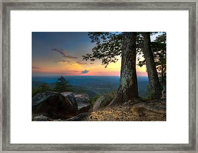Heaven On Earth Framed Print by Debra and Dave Vanderlaan