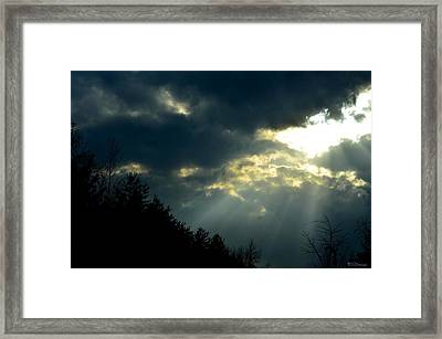 Heaven Sent Framed Print by Maria Urso