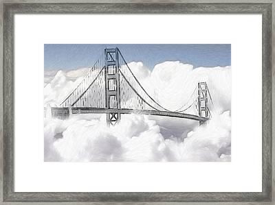Heaven So Near Framed Print by Steve K