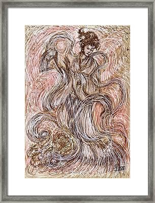 Heavenly Dance Framed Print