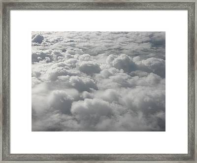 Heavenly Fluff Framed Print