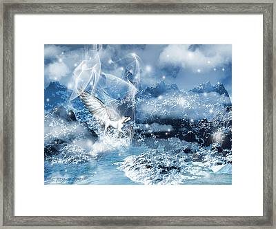 Heavenly Interlude Framed Print by Lourry Legarde