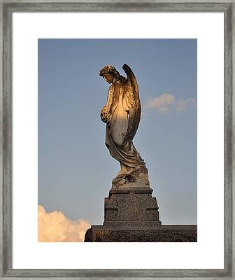 Framed Print featuring the photograph Heavenly Light by Cheri Randolph