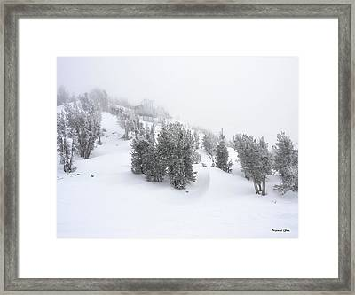 Heavenly  Framed Print by Nian Chen