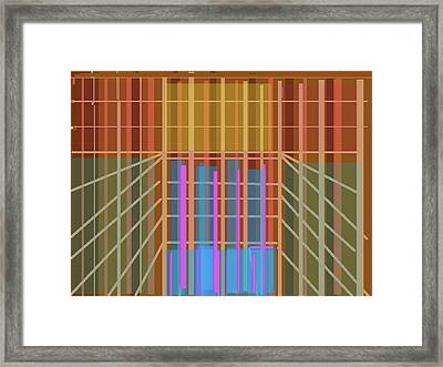 Heavenly Records Framed Print