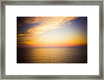 Heavenly Framed Print by Sara Frank
