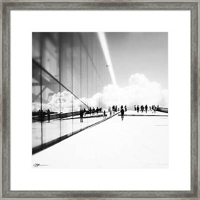 Heavenly Walk In Oslo 3 Framed Print by Marianne Hope