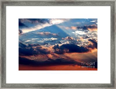 Heavens Above 2 Framed Print
