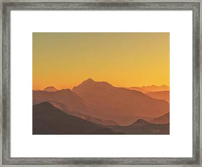 Heavens Breath 11 Framed Print by The Art of Marsha Charlebois