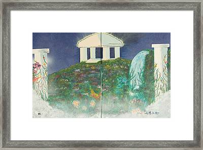 Heavens Gate Framed Print