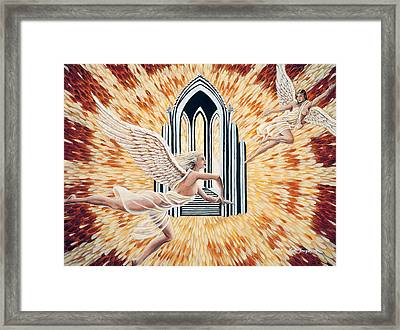 Heavens Gate Framed Print by Kurt Jacobson