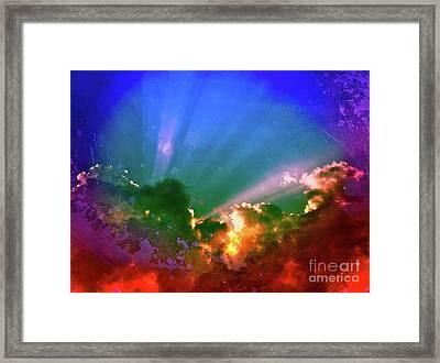 Heaven's Jewels Framed Print by Kevyn Bashore