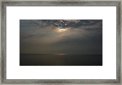 Heaven's Light Framed Print by Michael Carrothers