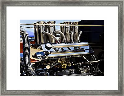 Heavy Breather Framed Print by Ricky Barnard
