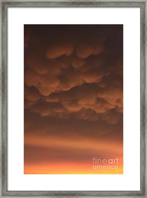 Heavy Framed Print by Bret Worrell