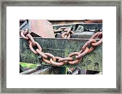 Heavy Chain Framed Print