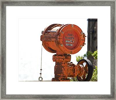 Heavy Duty Mailbox Framed Print by Gregory Scott