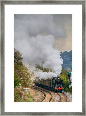 Heavy Metal In Motion Framed Print