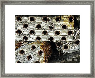 Heavy Metal Framed Print by Joe Jake Pratt