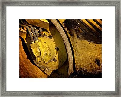 Heavy Pressure Framed Print by Odd Jeppesen