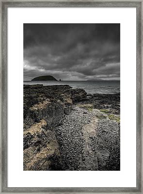 Heavy Sky Framed Print by Andy Astbury