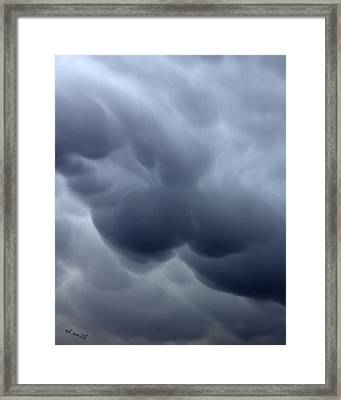 Heavy With Tears Framed Print by Ed Smith
