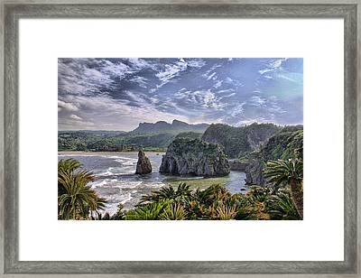 Hedo Point Framed Print by Karen Walzer