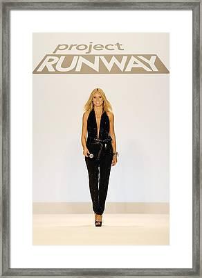 Heidi Klum In Attendance For Project Framed Print