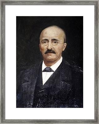 Heinrich Schliemann, German Archaeologist Framed Print by Ria Novosti