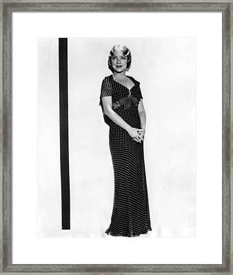 Helen Hayes, 1932 Framed Print by Everett