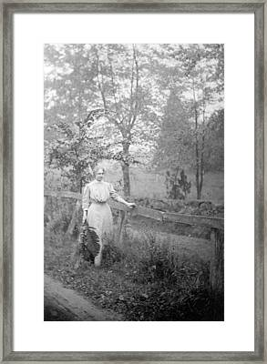 Helen Keller 1880-1968, Blind And Dead Framed Print by Everett