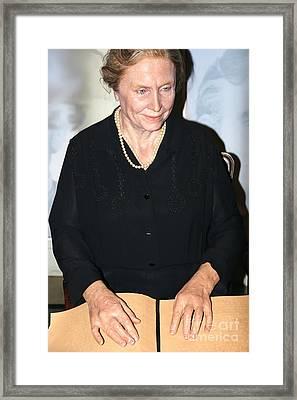 Helen Keller Framed Print by Sophie Vigneault