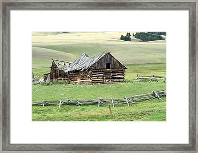 Helena Ranch Framed Print by Marty Koch