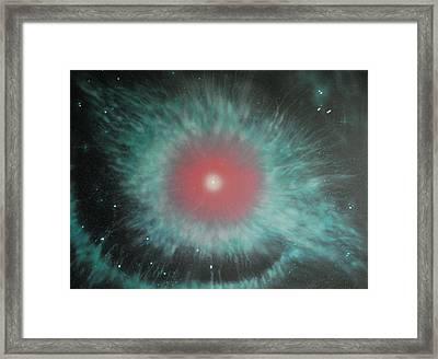 Helix Nebula Framed Print by DC Decker