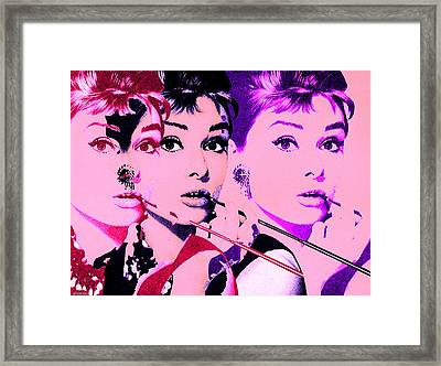 Hello Audry Framed Print by Christian Colman