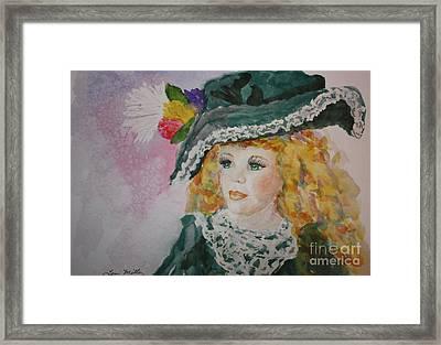 Hello Dolly Framed Print by Terri Maddin-Miller