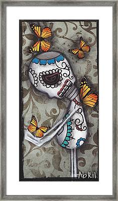 Hello Friend Framed Print by  Abril Andrade Griffith